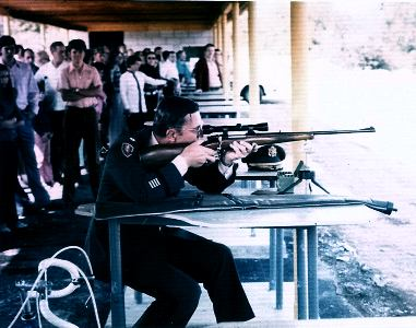 Rifle Range Dedication in early 1970s